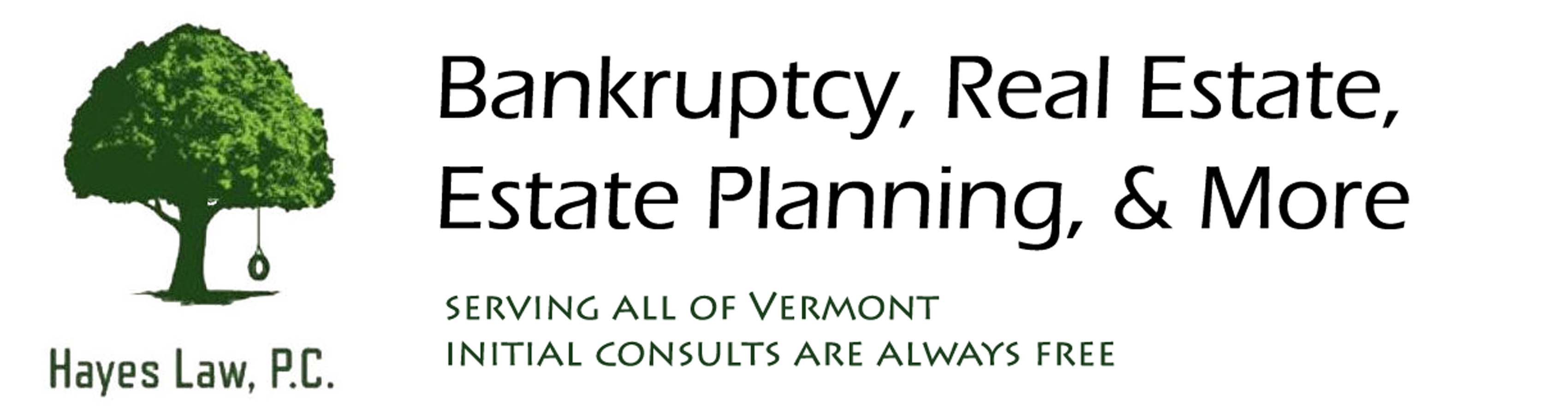 Bankruptcy, Real Estate, Estate Planning, and more.